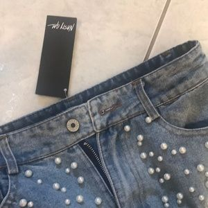 Nasty Gal Jeans - Nasty Gal Pearl Jeans
